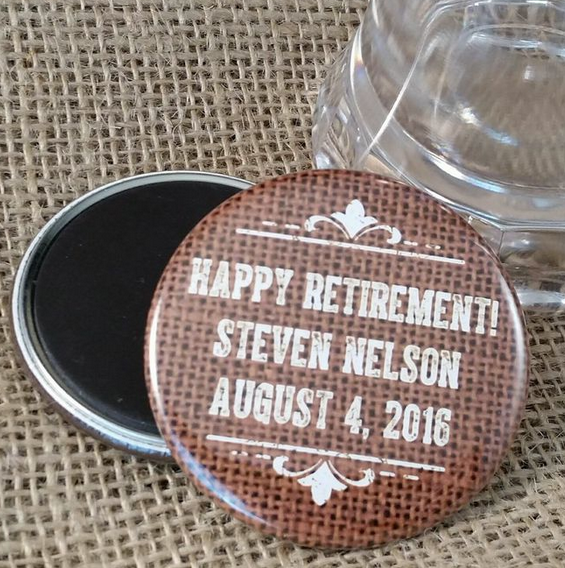 Retirement Party Favors