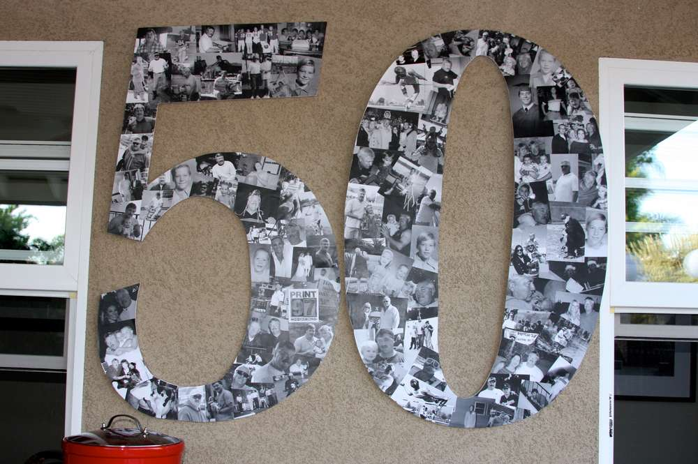50th Birthday Party Ideas for Men Tool Theme