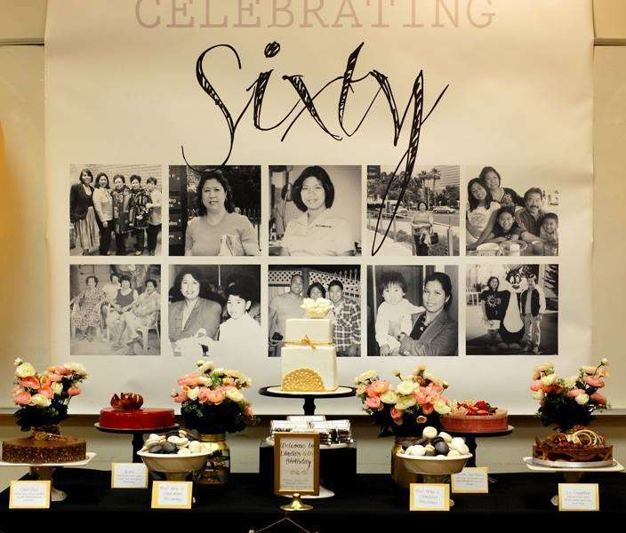 60th birthday party ideas for 60th anniversary party decoration ideas