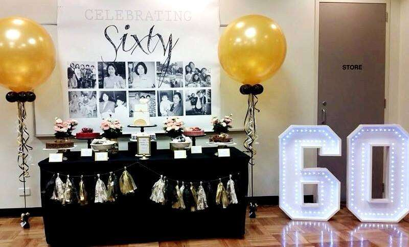 60th birthday party ideas for 60th anniversary decoration ideas
