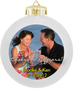 Photo Personalized Christmas Ornaments