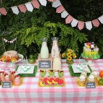 Fruit Theme Picnic Party