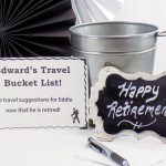 Retirement Party Bucket List