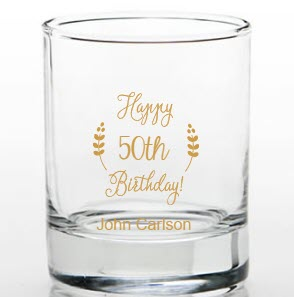 50th Birthday Shot Glasses