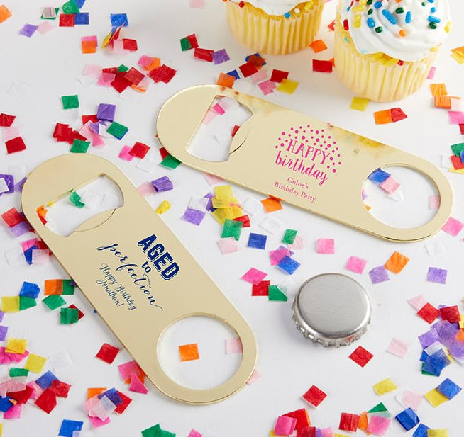 Adult Birthday Favors Bottle Openers