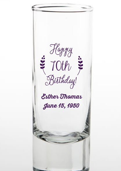 70th Birthday Party Favor Shooters