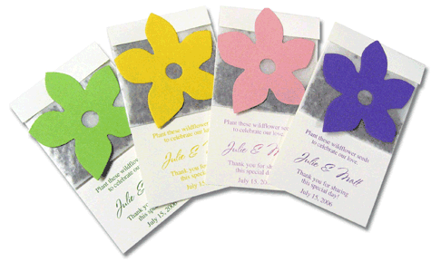 90th Birthday Party Seed Packs