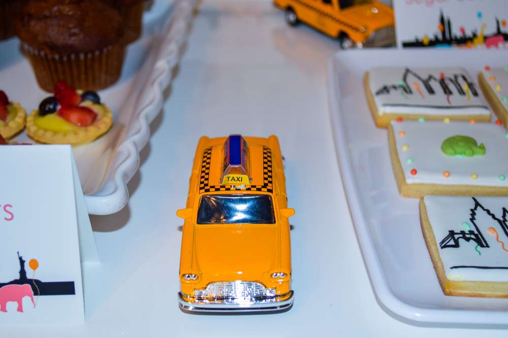 Taxi Cab Place Card Holders
