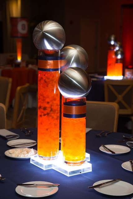 Basketball Theme Centerpiece