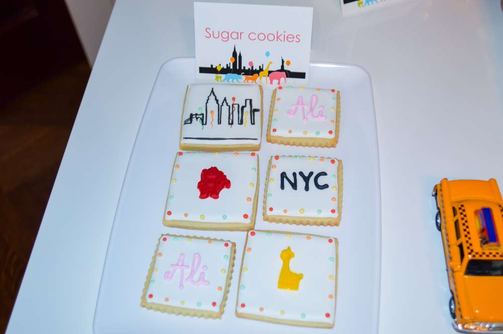 New York Theme Cookies