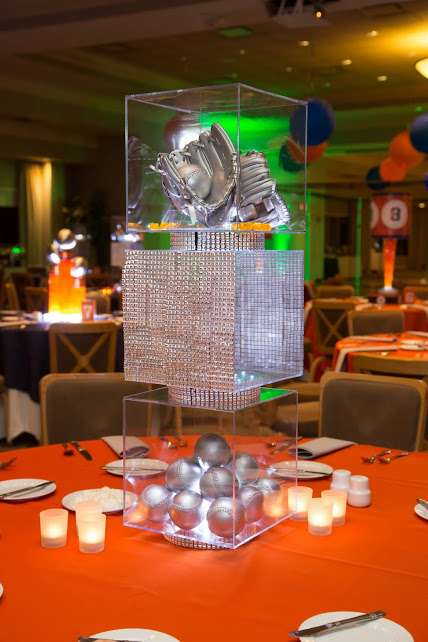 Baseball Theme Centerpieces