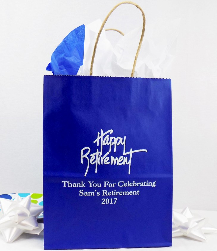 Retirement Gift Bags