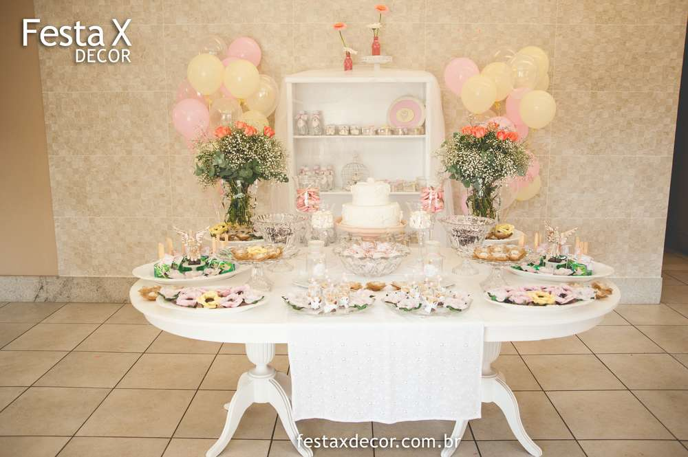 Baptism Party Ideas for a Girl